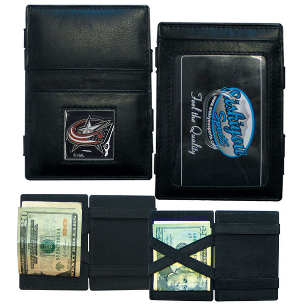 Columbus Blue Jackets? Leather Jacob's Ladder Wallet