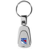 New York Rangers? Steel Teardop Key Chain
