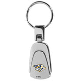 Nashville Predators? Steel Teardop Key Chain