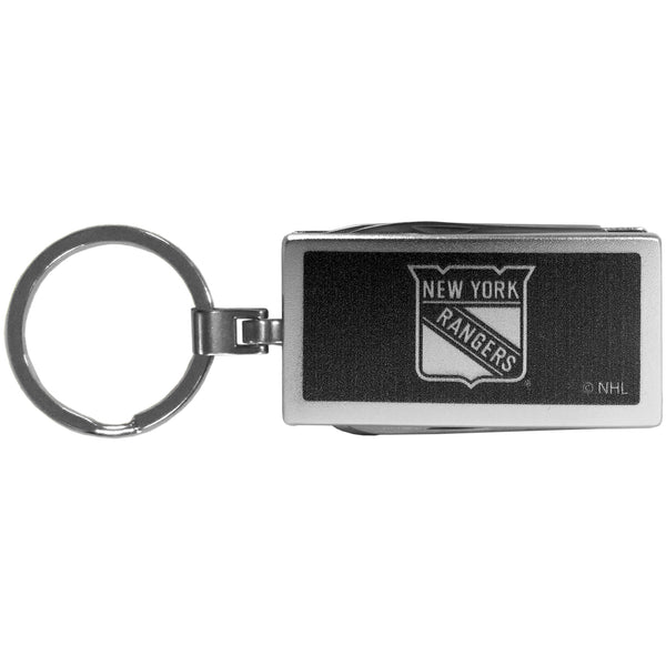 New York Rangers? Multi-tool Key Chain, Black