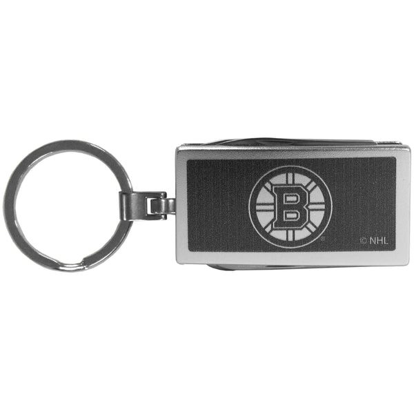 Boston Bruins? Multi-tool Key Chain, Black