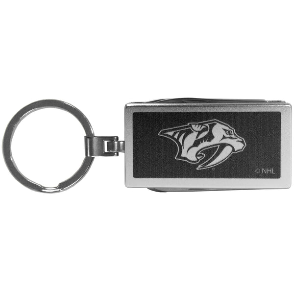 Nashville Predators? Multi-tool Key Chain, Black