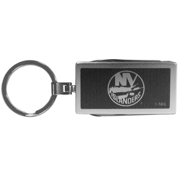 New York Islanders? Multi-tool Key Chain, Black
