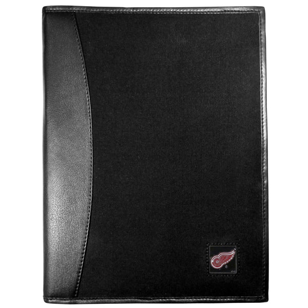 Detroit Red Wings? Leather and Canvas Padfolio