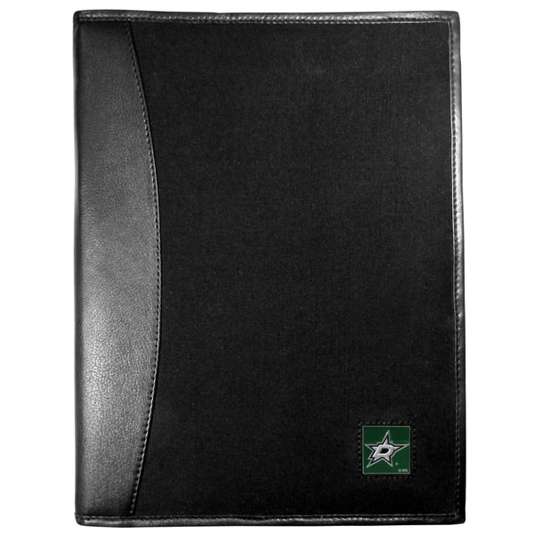 Dallas Stars? Leather and Canvas Padfolio