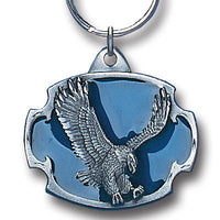 Eagle Metal Key Chain with Enameled Details