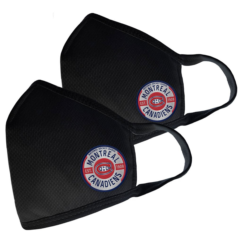 Montreal Canadiens 2 Pack Elite Face Cover - Gear Logo