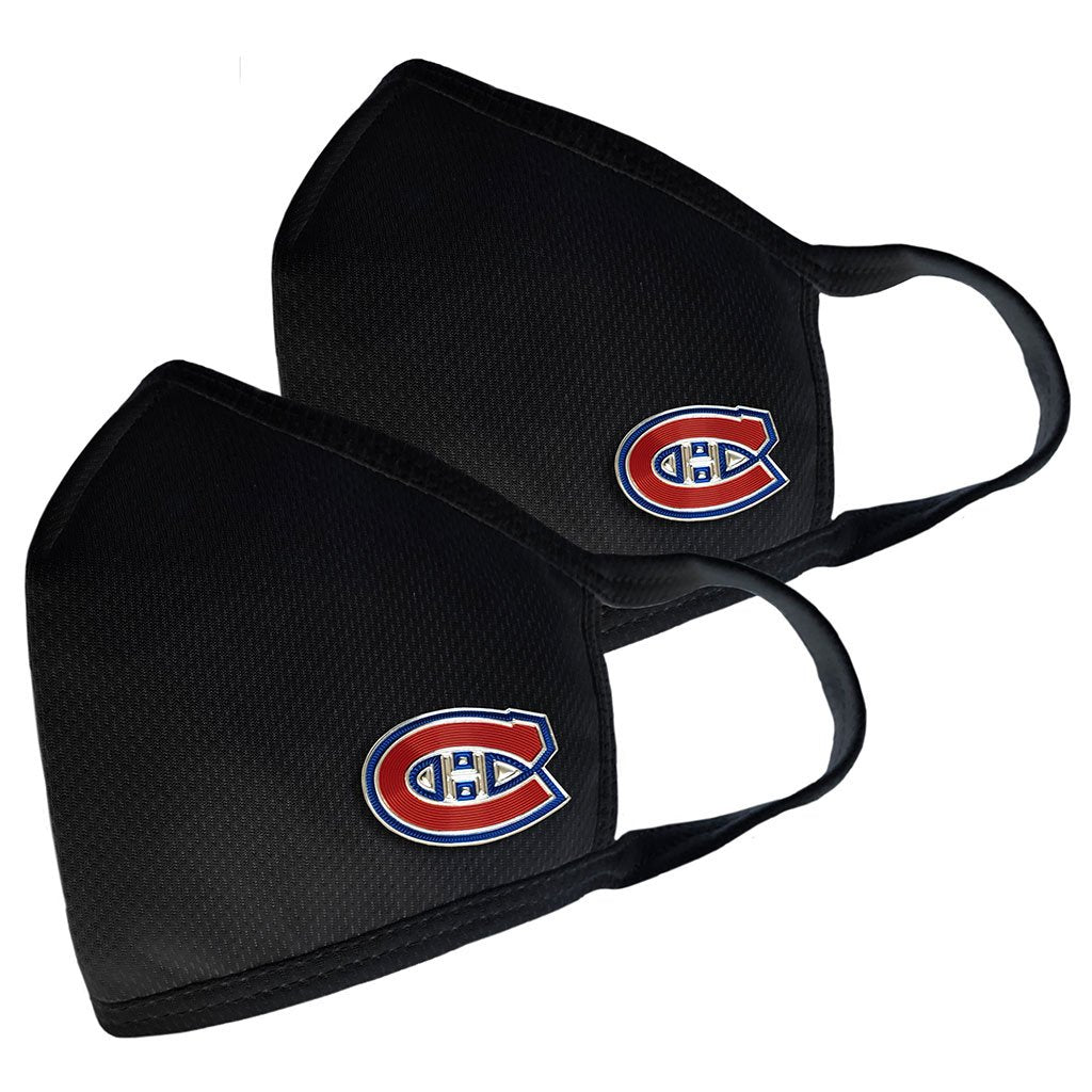 Montreal Canadiens 2 Pack Elite Face Cover - Primary Logo