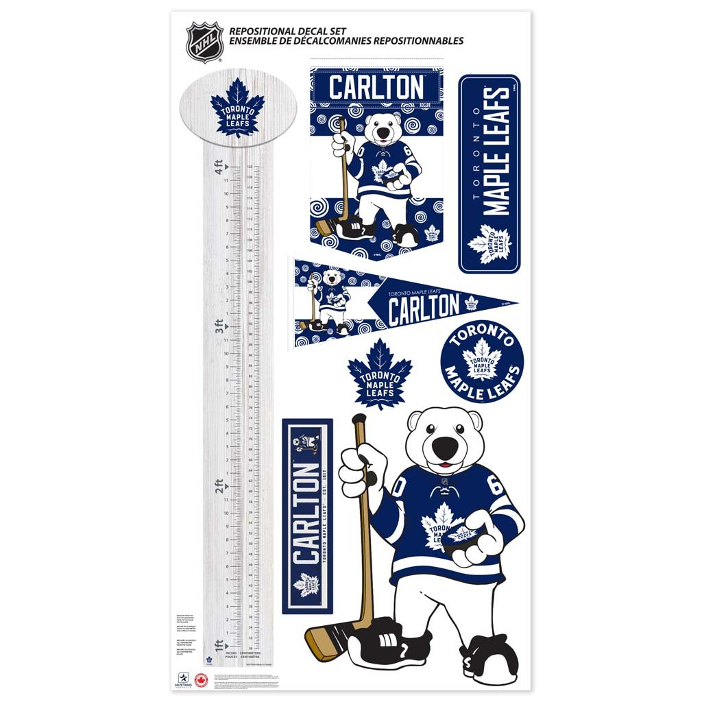 Toronto Maple Leafs Mascot Repositional Set