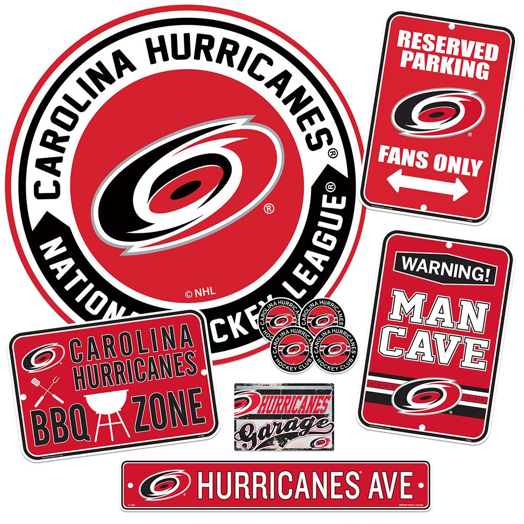Carolina Hurricanes Ultimate Fan Set 7 piece