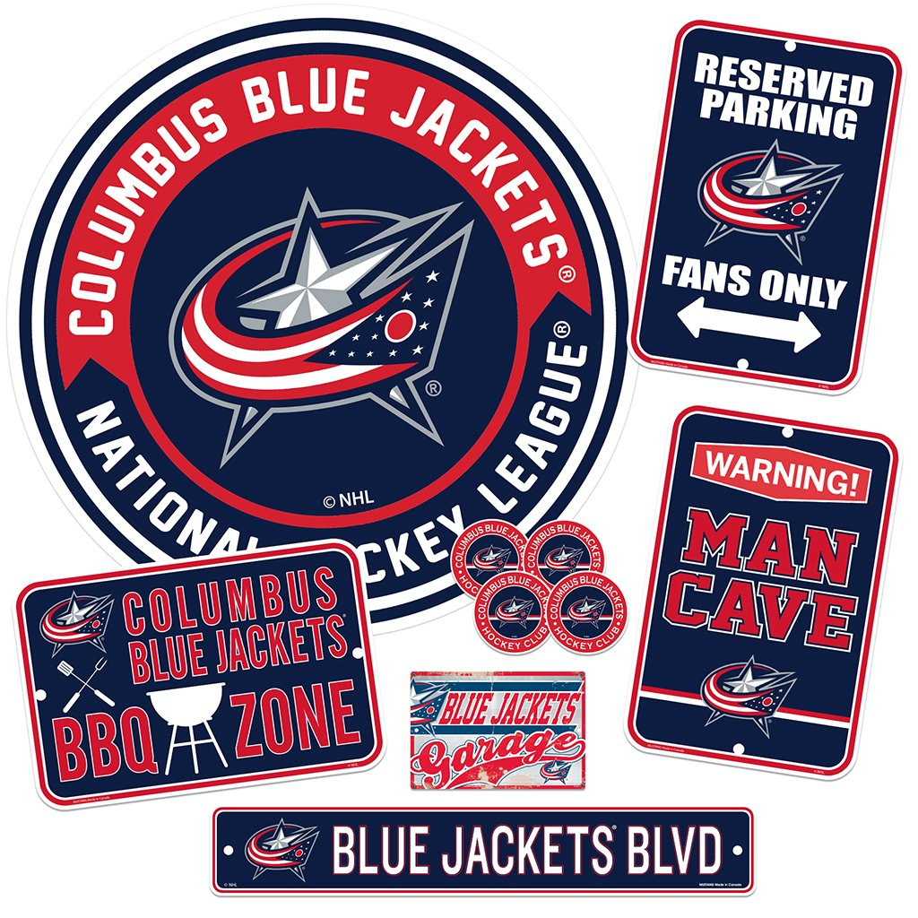 Columbus Blue Jackets Ultimate Fan Set 7 piece