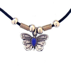 Butterfly Adjustable Cord Necklace