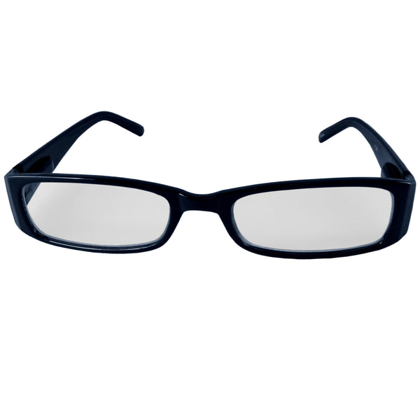 Dark Blue Reading Glasses Power +1.25, 3 pack