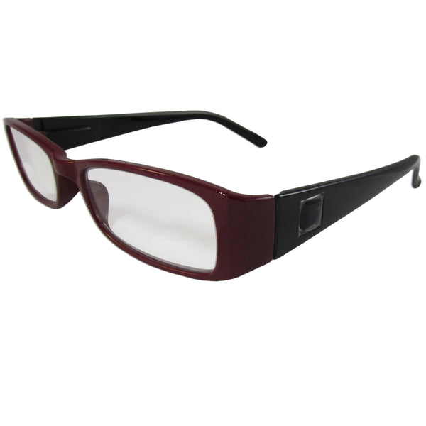 Maroon and Black Reading Glasses Power +1.50, 3 pack