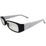 Black and White Reading Glasses Power +1.75, 3 pack