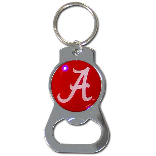 Alabama Crimson Tide Bottle Opener Key Chain