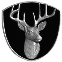 Trophy White Tail Deer Hitch Cover