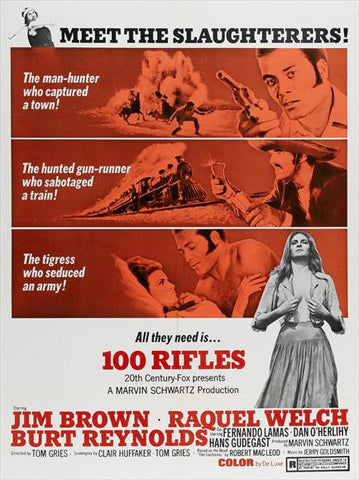 100 Rifles (1969) - Raquel Welch  DVD