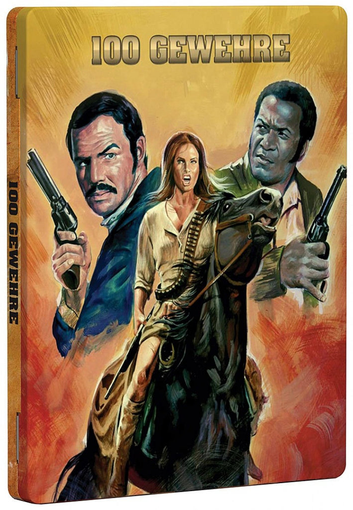 100 Rifles (1969) - Raquel Welch Limited Steelbook Edition Blu-ray
