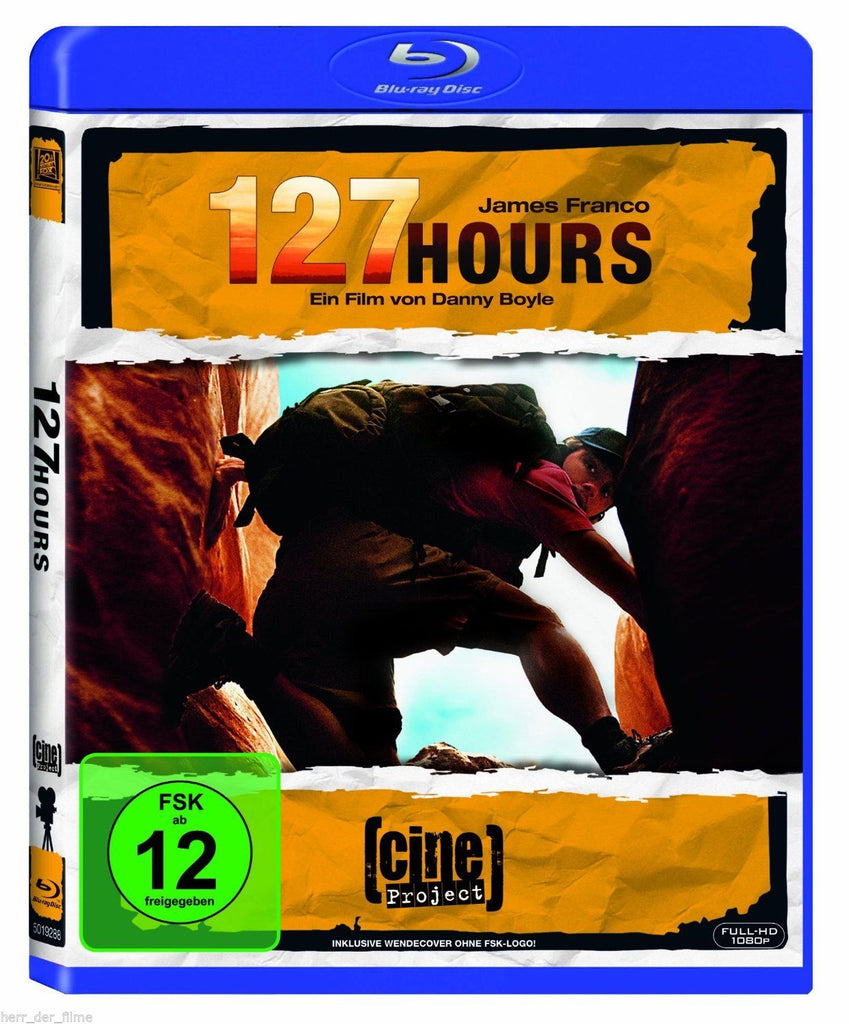 127 Hours (2010) - James Franco  Blu-ray