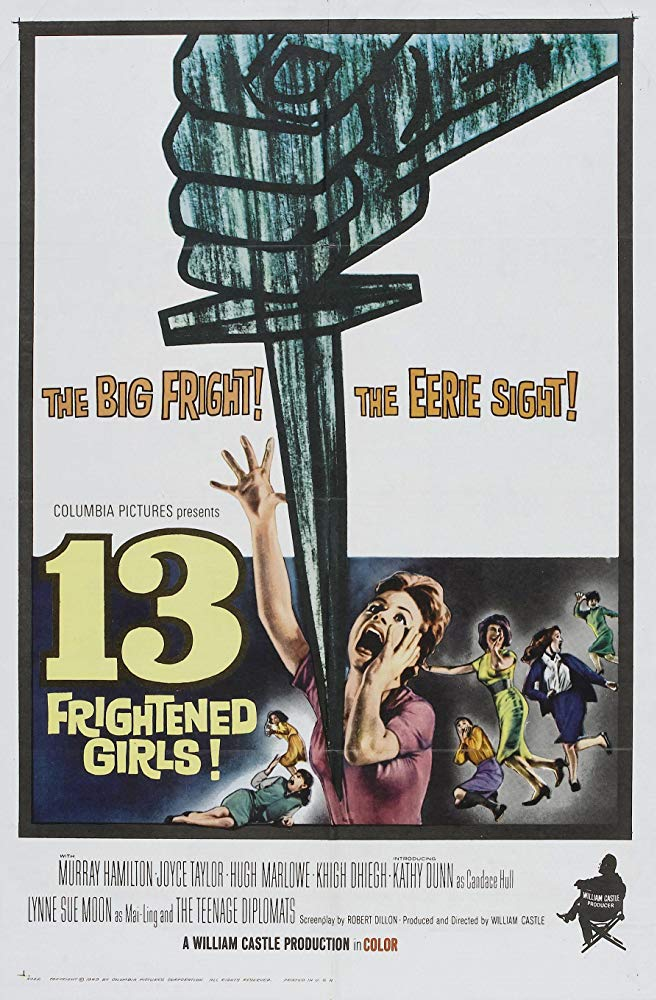 13 Frightened Girls (1963) - Murray Hamilton  DVD
