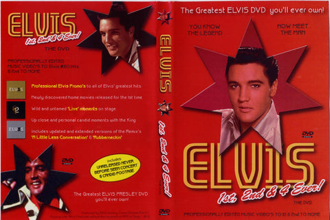Elvis - 1st 2nd And 4ever  DVD
