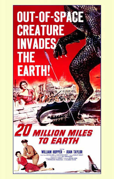 Twenty Million Miles To Earth (1957) - Ray Harryhausen Color Version DVD