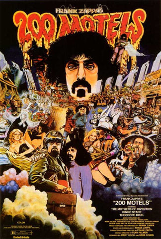 200 Motels (1971) - Frank Zappa  DVD