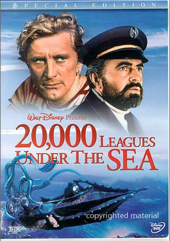 20,000 Leagues Under The Sea (1954) : Special Edition - Kirk Douglas  2 DVD Set THX