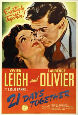 21 Days Together (1940) - Vivien Leigh  DVD