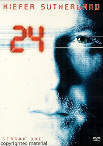 24 : Season 1 (2001) - Kiefer Sutherland  6 DVD Set