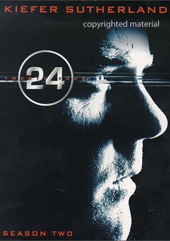 24: Season Two (2002) - Kiefer Sutherland  7 DVD Set