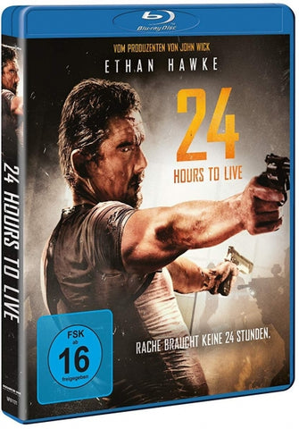 24 Hours To Live (2017) - Ethan Hawke  Blu-ray