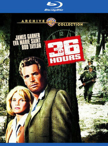 36 Hours (1965) - James Garner  Blu-ray