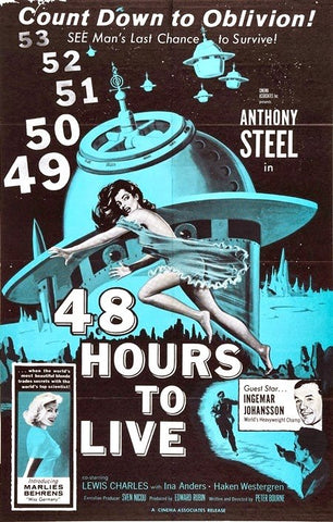 48 Hours To Live (1959) - Anthony Steel  DVD