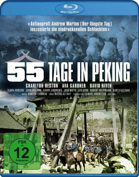 55 Days At Peking (1963) - Charlton Heston  Blu-ray
