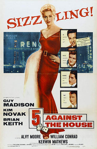 5 Against The House (1955) - Kim Novak  DVD