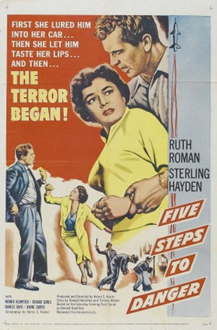 5 Steps To Danger (1957) - Sterling Hayden  DVD