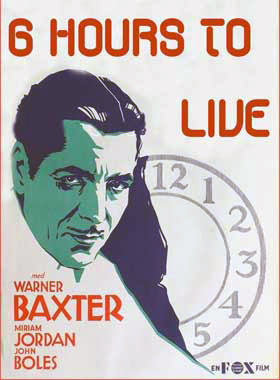 6 Hours To Live (1932) - Warner Baxter  DVD