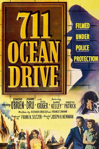 711 Ocean Drive (1950) - Edmond O´Brien  DVD