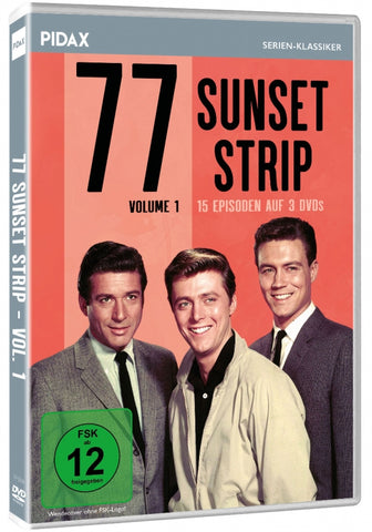 77 Sunset Strip : Volume 1 (1958) - Efrem Zimbalist  (3 DVD Set)