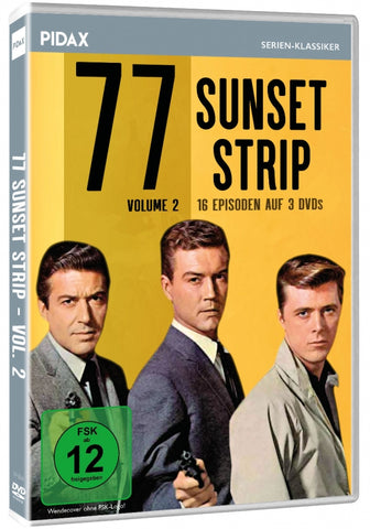 77 Sunset Strip : Volume 2 (1958) - Efrem Zimbalist  (3 DVD Set)