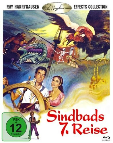 The 7th Voyage Of Sinbad (1958) - Kerwin Mathews  Blu-ray