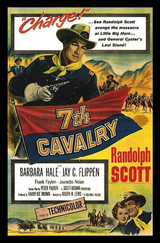 7th Cavalry (1956) - Randolph Scott  DVD