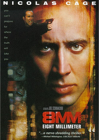 8MM (1998) - Nicolas Cage  DVD