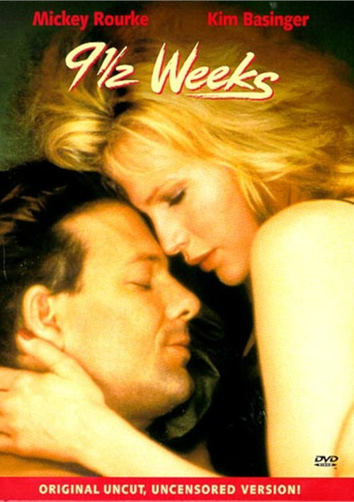 9 1/2 Weeks (1986) - Mickey Rourke UNCUT  DVD