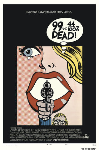 99 And 44/100 % Dead (1974) - Richard Harris  DVD