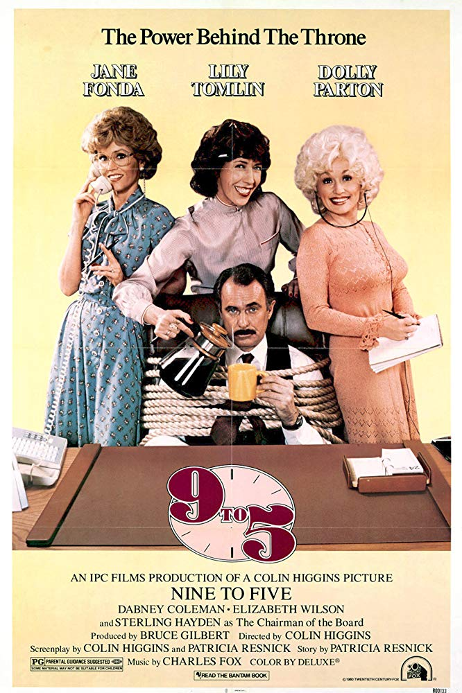 9 To 5 (1980) - Jane Fonda  DVD