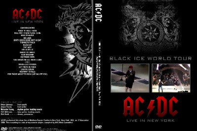 AC/DC - Black Ice In New York 2008  DVD