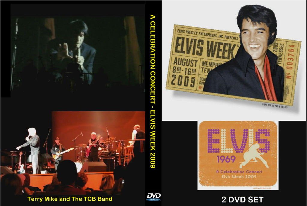 Elvis 1969 - A Celebration Concert 2009  ( 2 DVD Set )
